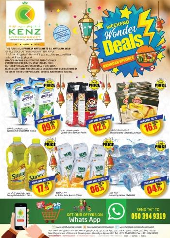 Kenz Kenz Hypermarket Weekend Wonder Deals