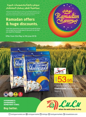Lulu Ramadan Kareem Offers at Lulu Hypermarket