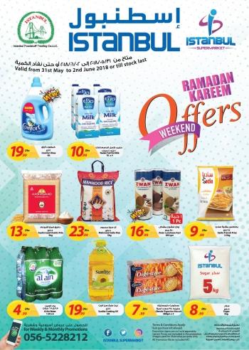 Istanbul Supermarket Istanbul Supermarket Ramadan Weekend Offers
