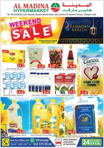 Al Madina Hypermarket Al Madina Hypermarket Sharjah Weekend Sale