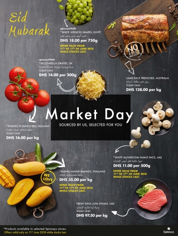 Spinneys Spinneys Market Day Offers 11 June