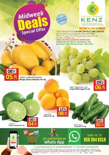 Kenz Hypermarket Midweek Special Offers