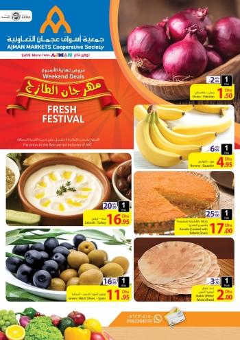 Ajman Markets Co-op Society Weekend Fresh Festival at Ajman Markets Co-op Society