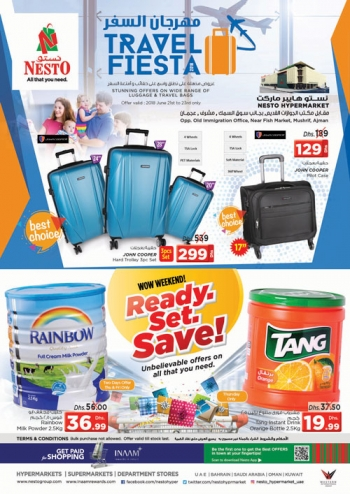 Nesto Nesto Hypermarket Travel Fiesta Offers
