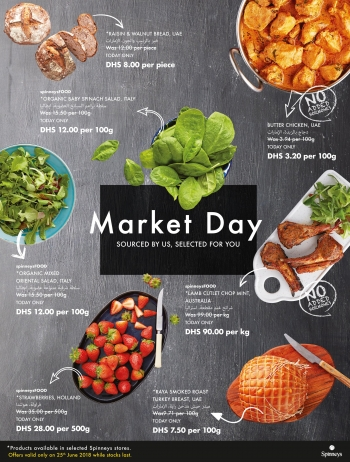 Spinneys Spinneys Market Day Offers 25 June