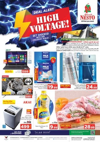 Nesto Nesto Hypermarket High Voltage Offers