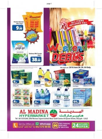 Al Madina Hypermarket Al Madina Hypermarket Great Weekend Deals
