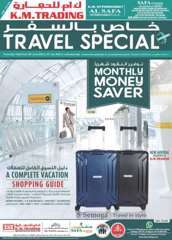 K M Trading KM Trading Travel Special Offers