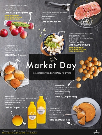 Spinneys Spinneys Market Day Offers 02 July