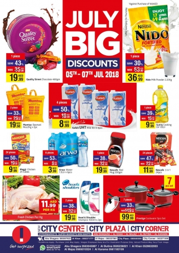 City Centre Supermarket City Centre Supermarket July Big Discount