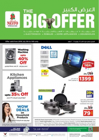 Nesto Nesto Hypermarket The Big Offer