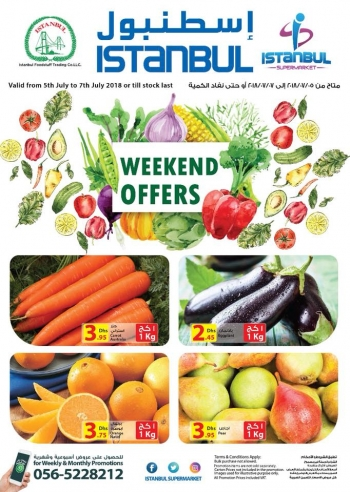 Istanbul Supermarket Istanbul Supermarket Best Weekend Offers