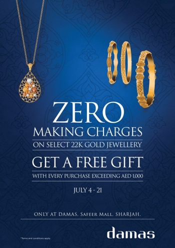 Damas Damas Zero Making Charges Offers