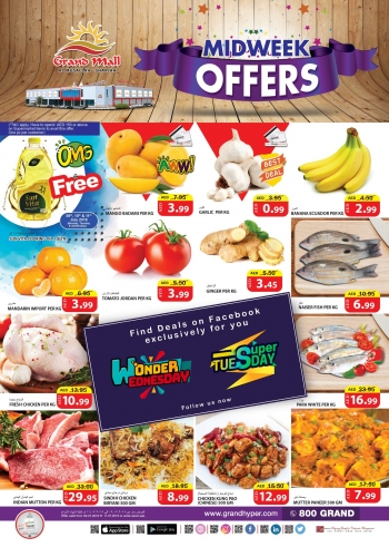 Grand Hypermarket Grand Mall Great Midweek Offers