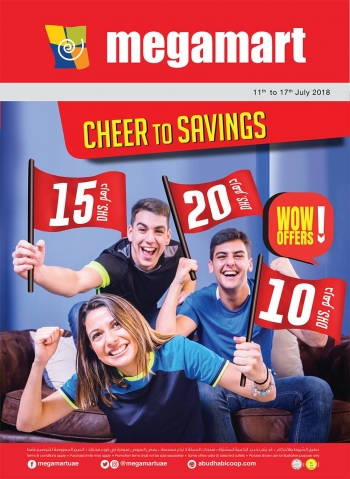Megamart Megamart Cheer To Savings Offers