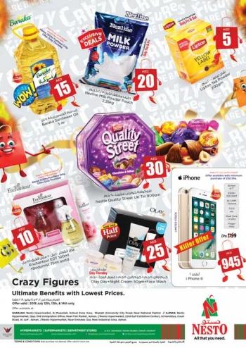 Nesto Nesto Hypermarket Crazy Figures Offers