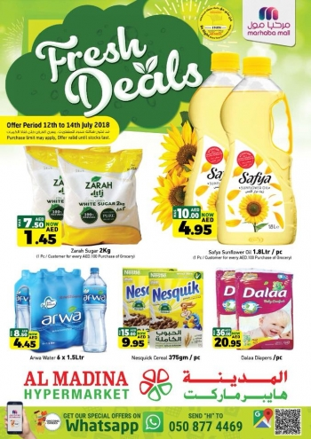 Al Madina Hypermarket Al Madina Hypermarket Weekend Fresh Deals
