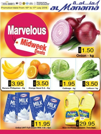 Al Manama Marvelous Midweek Offers
