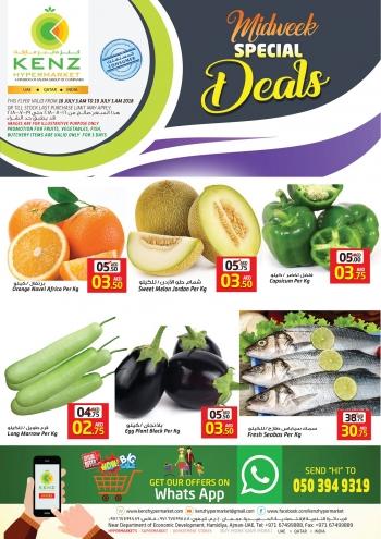 Kenz Kenz Hypermarket Special Midweek Offers