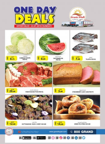 Grand Hypermarket Grand Mall One Day Deals