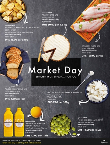 Spinneys Spinneys Market Day Offers 23 July