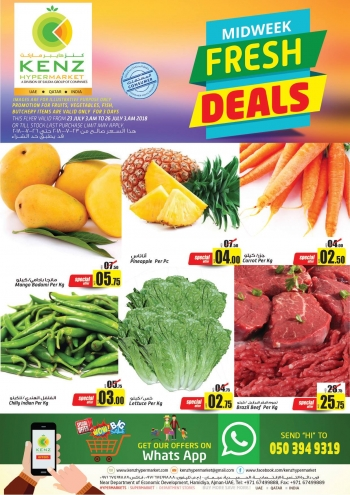 Kenz Kenz Hypermarket Midweek Fresh Deals