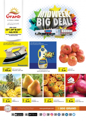 Grand Hypermarket Grand Mall Midweek Big Deal