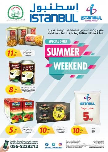Istanbul Supermarket Istanbul Supermarket Special Weekend Offers