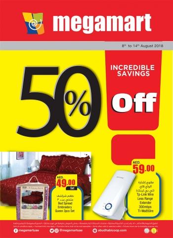 Megamart Megamart Incredible Savings Offers