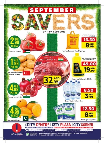 City Centre Supermarket City Centre Supermarket September Savers Deals
