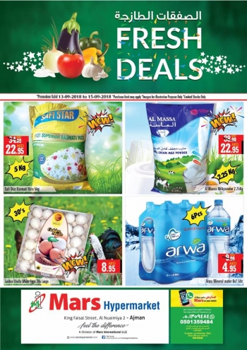 Mars Hypermarket Mars Hypermarket Weekend Fresh Deals