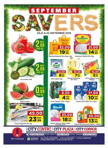 City Centre Supermarket  City Centre Supermarket September Savers Deals