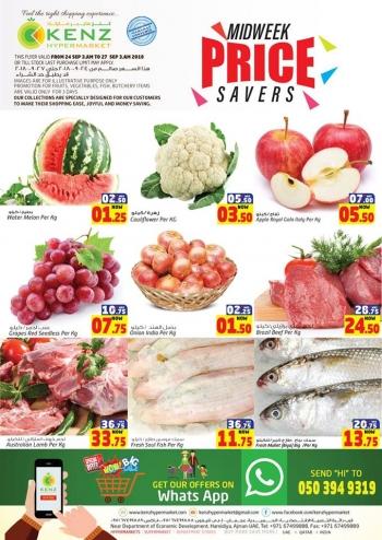 Kenz Kenz Hypermarket Price Savers Offer