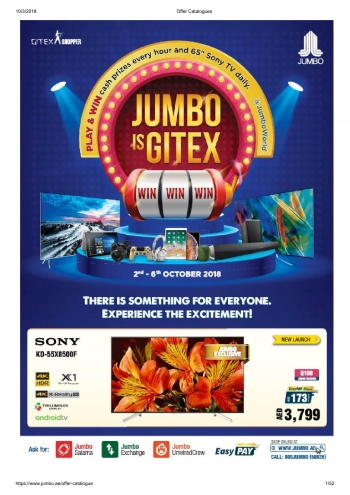 Jumbo Electronics Jumbo Electronics Jumbo Is Gitex Offers