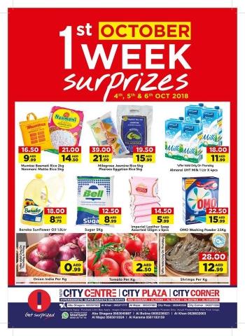 City Centre Supermarket City Centre Supermarket October Week Surprise  Deals