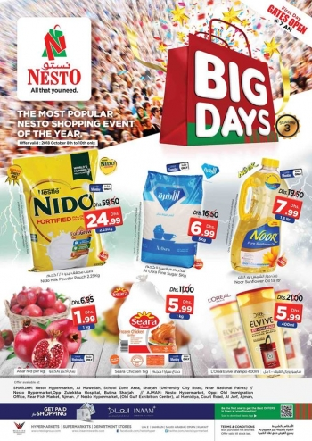 Nesto Nesto Hypermarket Big Days Deals