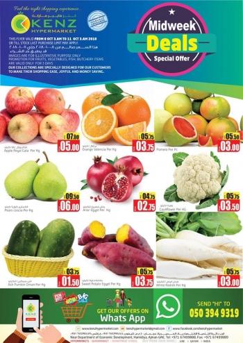 Kenz Kenz Hypermarket Midweek Specials Offers