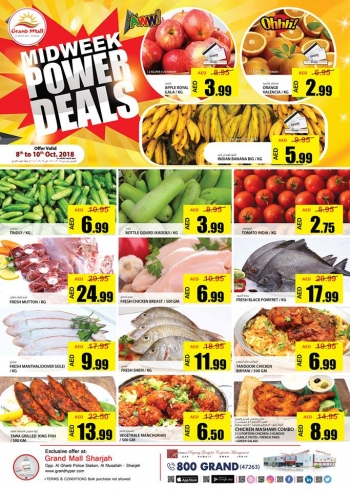 Grand Hypermarket Grand Mall Midweek Deals