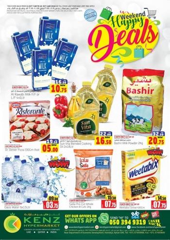 Kenz Kenz Hypermarket Weekend Happy Deals