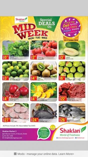 Shaklan Market Shaklan Market Mid week Special Deals