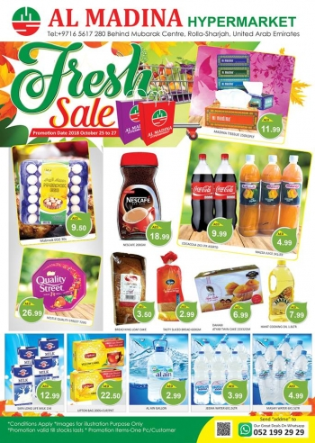 Al Madina Hypermarket Al Madina Hypermarket Fresh Sale Offers