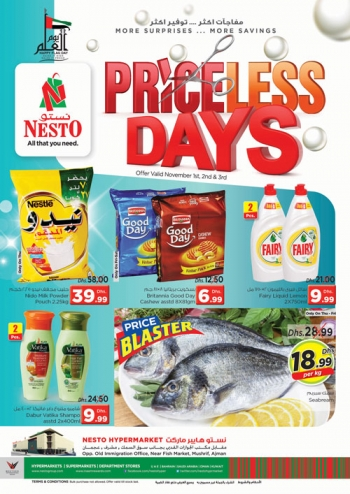 Nesto Nesto Hypermarket Priceless Days Deals