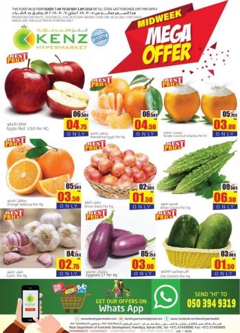Kenz Kenz Hypermarket Midweek Mega Offer.