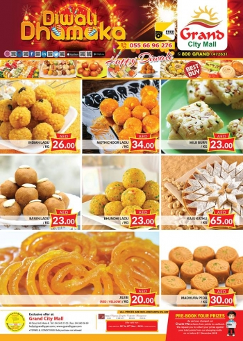 Grand Hypermarket Grand Mall Diwali Offers
