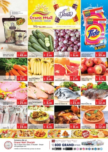 Grand Hypermarket Grand Mall Super Saving Midweek Offers
