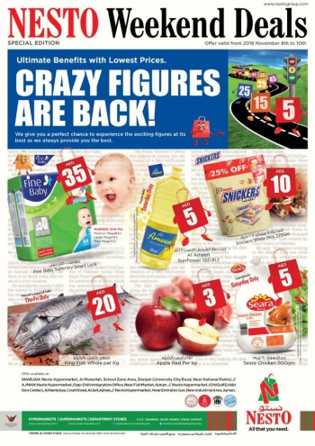 Nesto Nesto Hypermarket Weekend Deals