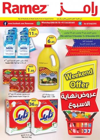 Ramez  Ramez Weekend Offer in Ras Al-Khaimah