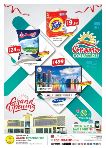 Grand Hypermarket Grand Hypermarket Top Killer Offers