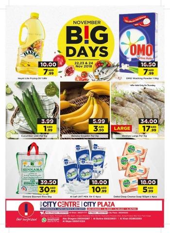 City Centre Supermarket   City Centre November Big Days Deals