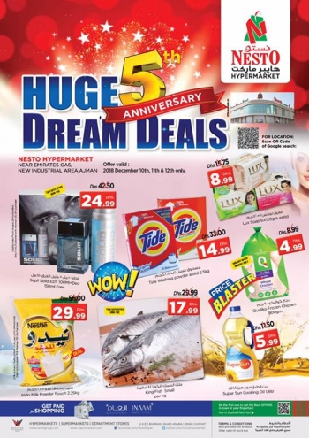 Nesto Nesto Hypermarket Huge Anniversary Dream Deals